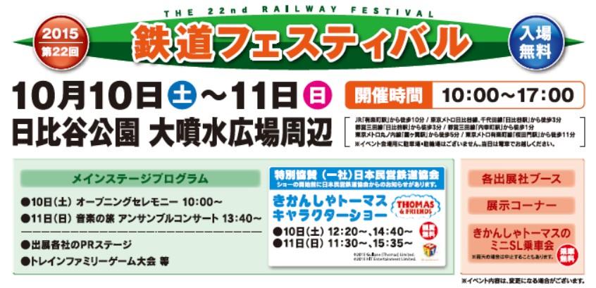 鉄道フェスティバル2015